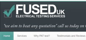 Fused Uk PAT Testing company