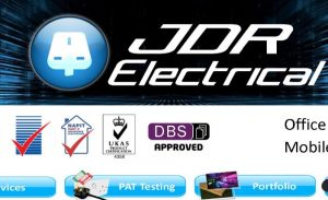 JDR Electrical PAT Testing Company West Yorkshire