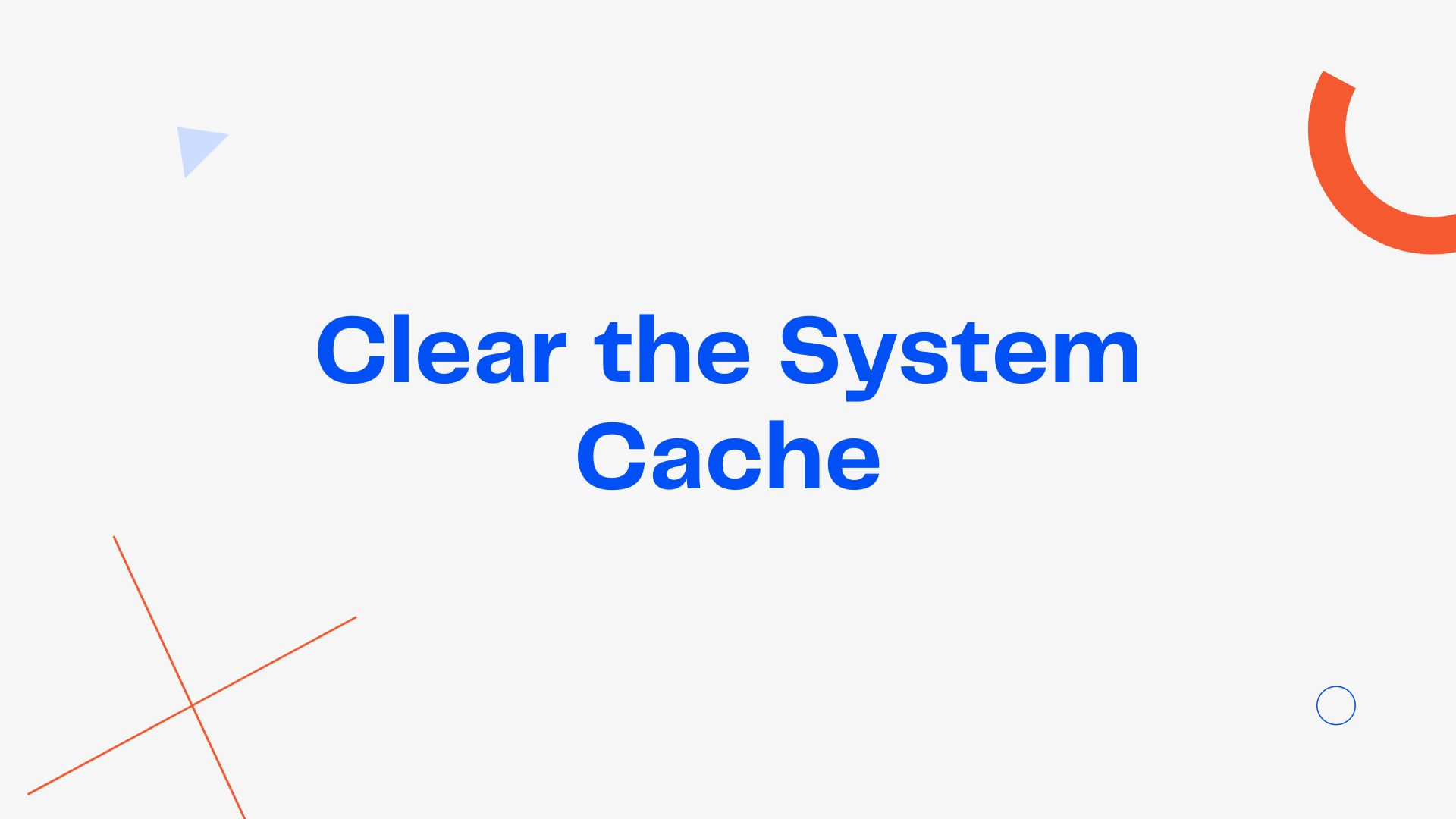 Clear system cache to fix [pii_email_cbd448bbd34c985e423c] error