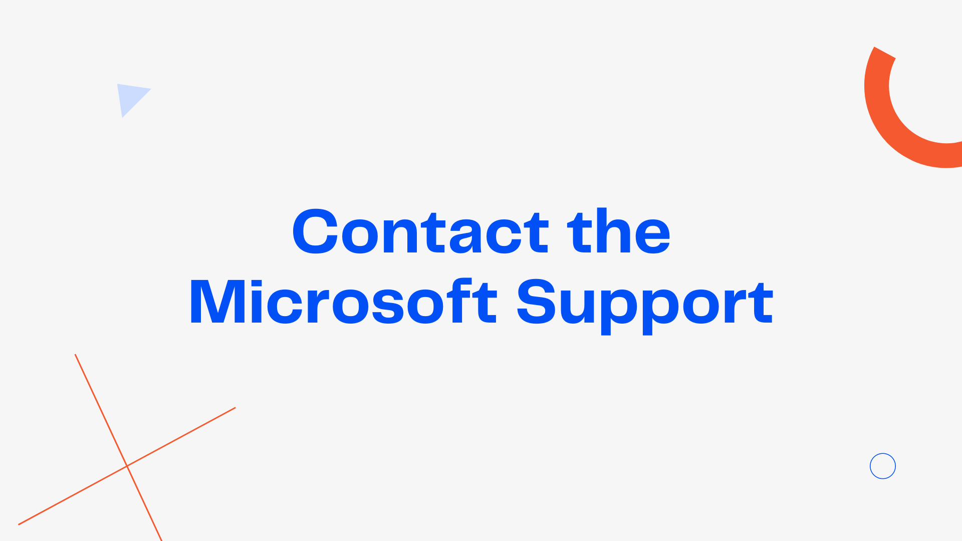 Contact the Microsoft Support to fix [pii_email_cbd448bbd34c985e423c]