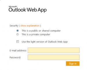 Outlook Web App to fix [pii_email_123dd92c65546aac4234] error